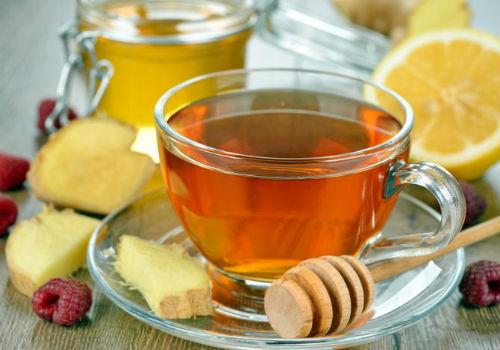 чай c медом после обострения