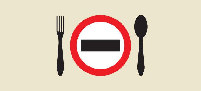 голодание - запрет на еду