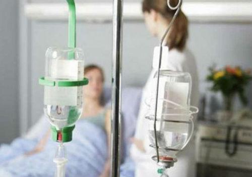 капельница для пациента