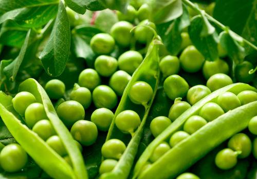 зелены горошек