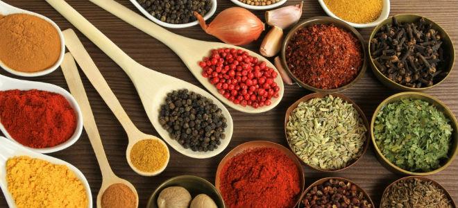 вкусовые добавки к пище