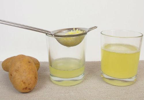 приготовление картофельного сока