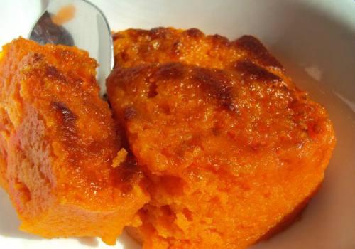 Яблочно-морковное суфле
