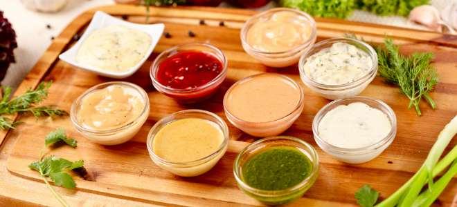 различные соусы