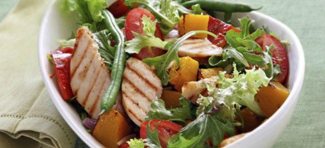 полезные и вкусные салаты