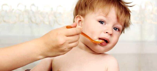 питание маленького ребёнка