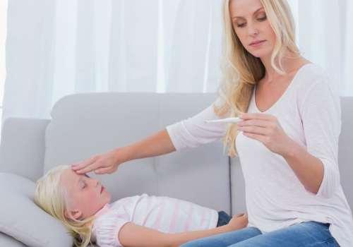 высокая температура у ребенка как признак заболевания