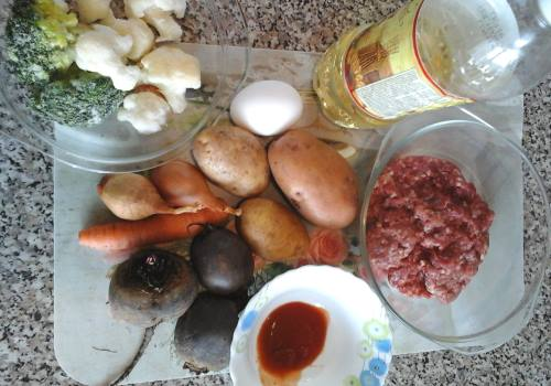 продукты для диетического борща